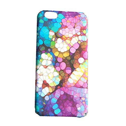 Oil iPhone 7 Plus Case,iPhone 8 Plus Case,Easeu Colorful Kaleidoscope Amazing World Supler Slim Plastic Snap Cover Spectrum Hard Case for iPhone 7 Plus/iPhone 8 Plus 5.5 inch ()