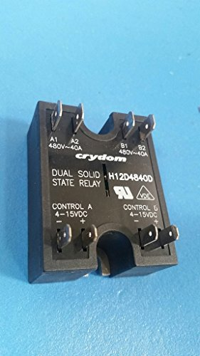H12D4840D  ** Crydom Dual Solid State Relay