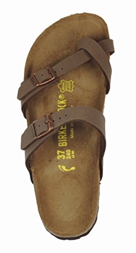 Birkenstock Mayari Birko-Flor - Sandalias de dedo para mujer Mocca