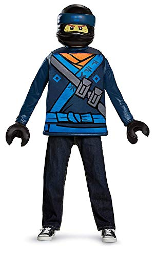 Disguise Lloyd Lego Ninjago Movie Deluxe Costume, Green, Medium (7-8)