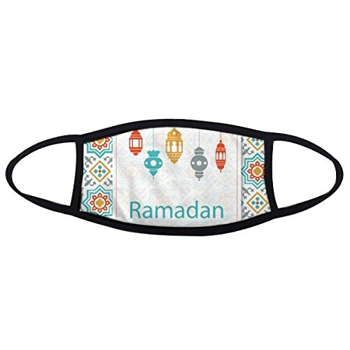 Price comparison product image Islamism Religion Allah Faith Islam Faith Pilgrimage Ramadan Decoration Blanket Art Pattern Face Anti-dust Mask Anti Cold Maske