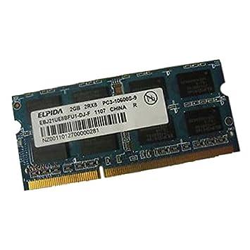 2 GB RAM PC portátil Elpida ebj21ue8bfu1-dj-f PC3 - 10600U SODIMM DDR3 1333 mhz CL9: Amazon.es: Electrónica