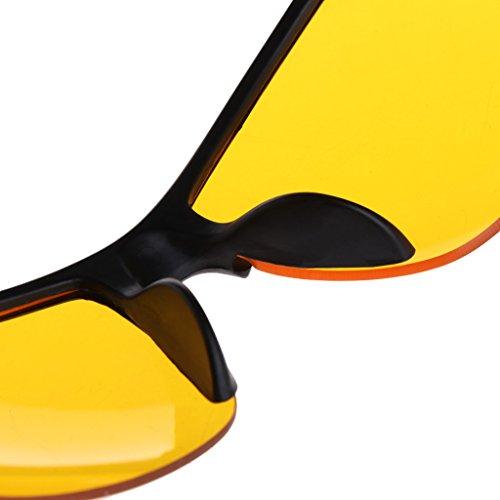 nuit 008 Lunettes nbsp;paire Cyclisme extérieur Unisexe de UV400 de de Loegrie protection soleil Pêche vision nbsp; de 1 lunettes wgP01