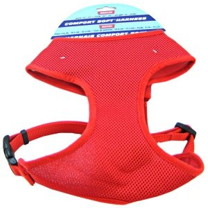 Coastal Pet Comfort Soft Harness Red: XX Small Dogs 5 7 lbs