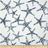 Nautical Draft Stoppers - Unfilled - Window or Door Draft Stopper (Starfish Navy)