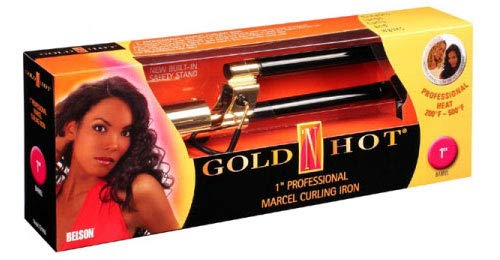 (Gold 'N Hot Professional Marcel Curling Iron, 1 Inch)