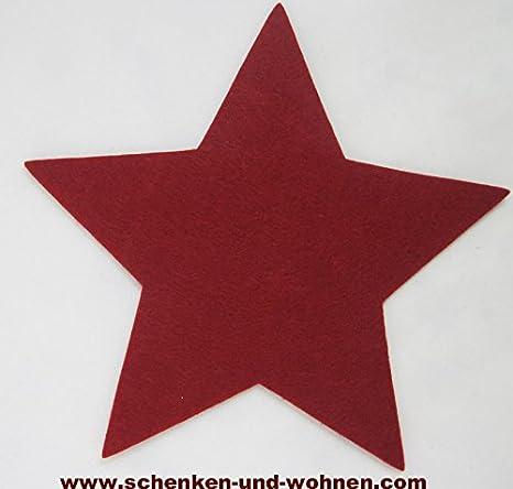 50 Stück Filzstern//Filz Stern// Filzsterne// Dekoartikel// Weihnachtsdeko//