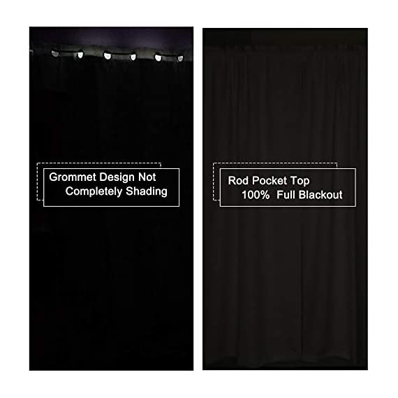 """SUOCAI 100 Blackout Curtains with Black Liners - Solid Thermal Insulated Full Blackout 2-Layer Lined Drapes - Energy Efficiency Window Draperies for Bedroom (2 Panels 42 by 84 Inch Light Grey) - READY MADE: 2 panels per package. Each Blackout Curtain Panel measures 42 inches wide x 84 inches long. 3"""" rod pocket top fits most standard rods.Multiple colors & sizes are available. 100% BLACKOUT: Innovated with high technology,they are the best blackout curtains on the market. These magic window curtains with black liner backing makes the drapes thick enough to completely keep out the 100% SUNLIGHT and UV RAY.Give you a real dark environment, bringing you a good night's sleep during the day. FUNCTIONS:Super Heavy Blackout Lined Curtain Panels can be a good sense of drape,the effect of SOUNDPROOF & THERMAL INSULATED is 2 times higher than the ordinary 1-layer of curtains. - living-room-soft-furnishings, living-room, draperies-curtains-shades - 41tjz9mZFUL. SS570  -"""
