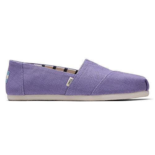 (TOMS Dusky Purple Heritage Canvas Women's Alpr ESP Purple 10014419 9)