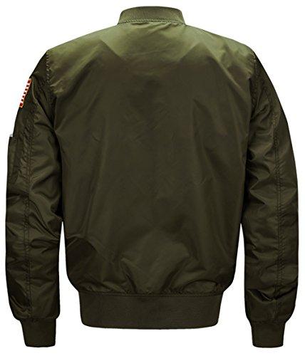 8805 Armygreen deep Giacca Yyzyy Uomo TnWw646Hq