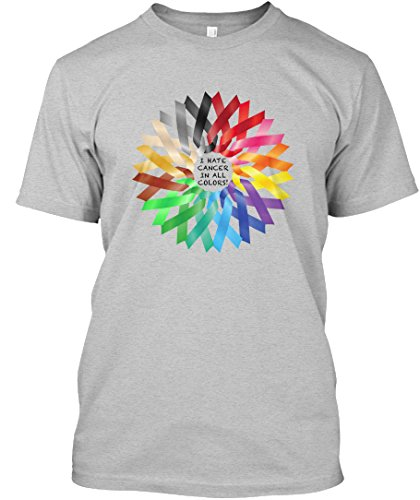 teespring-unisex-i-hate-cancer-in-all-colors-premium-t-shirt-medium-light-heather-grey