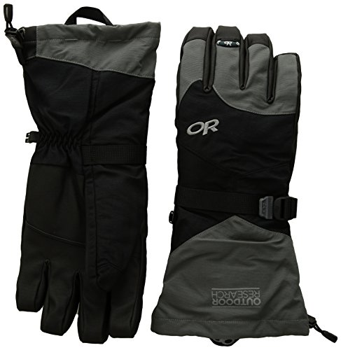 Outdoor Research Meteor Gloves, Black/Charcoal, X-Large ()