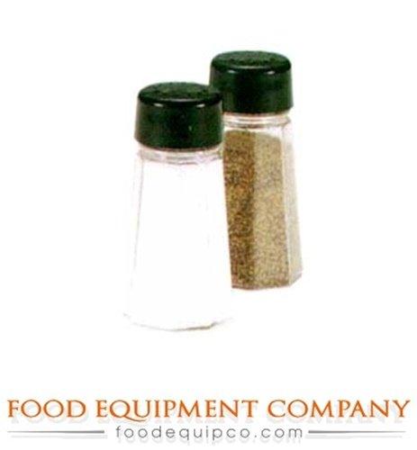 Dripcut Salt - Vollrath 312-06 Traex Dripcut Plastic Top Café Salt & Pepper Shakers - Case o