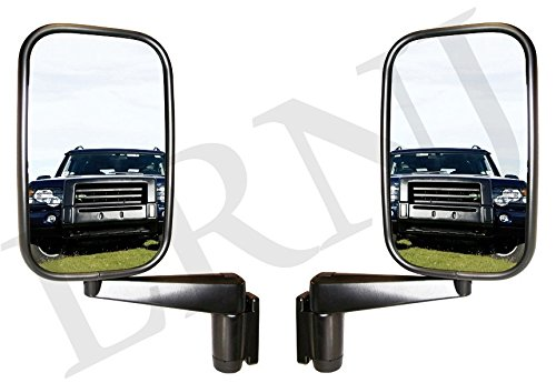 LAND ROVER DEFENDER 90/110 MIRROR AND ARM ASSEMBLY SET OF 2 LH AND RH SIDE PART # MTC5217