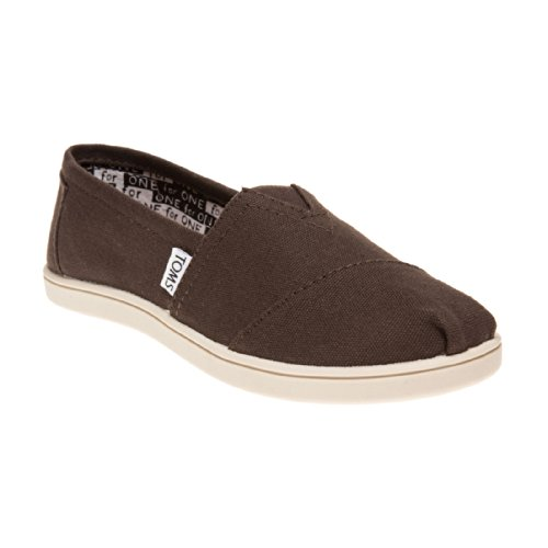 Toms Kids Classics Chocolate Canvas Youth 12.5