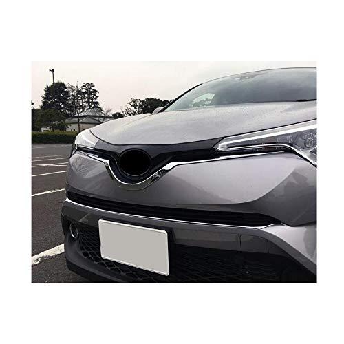 New 1PCS cromato griglia anteriore griglia modanatura Trim per c-hr 2017/2018/2019