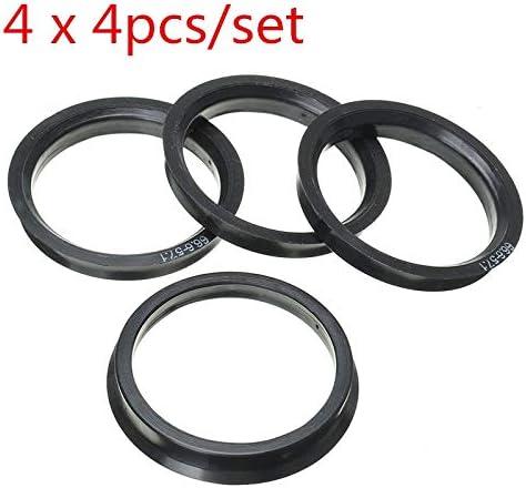 Carvicto - 16 pcs For AUDI Hub Centric Rings Car Wheel Bore Center Collar 66.6-57.1mm / Carvicto - 16 pcs For AUDI Hub Centric Rings Car Wheel Bore Center Collar 66.6-57.1mm