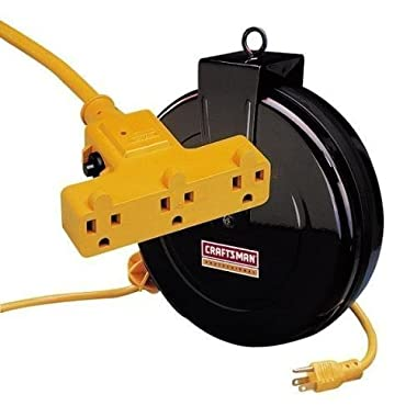 Craftsman 30-foot 14 Gauge Retractable extension Cord Reel 83929 by Craftsman