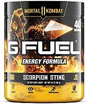 G Fuel Scorpion Sting (40 Servings) Elite Energy and Endurance Powder 9.8 oz. (Mortal Kombat)