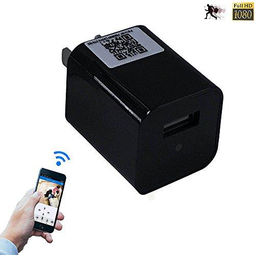 Spygear-Wifi Spy Camera Usb Wall Charger Hidden Camera -3067