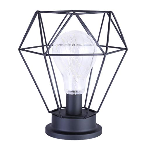 Orcbee  _Led Metal Accent Light Battery-Operated Lamp Diamond Decoration Light US Stock