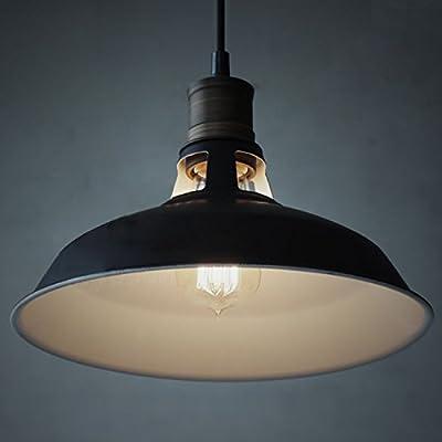 CLAXY® Ecopower Industrial Barn Mini Metal Pendant Light 1 Light