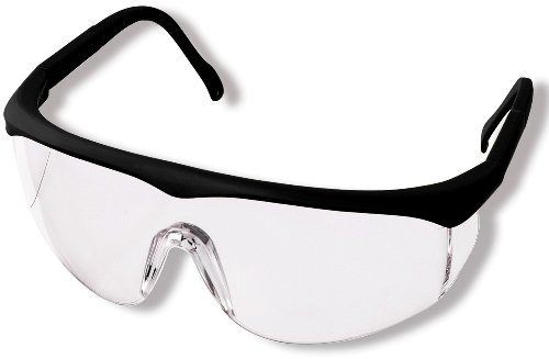 Prestige Medical Colored Full Frame Adjustable Eyewear, Black - Large Lab Frames