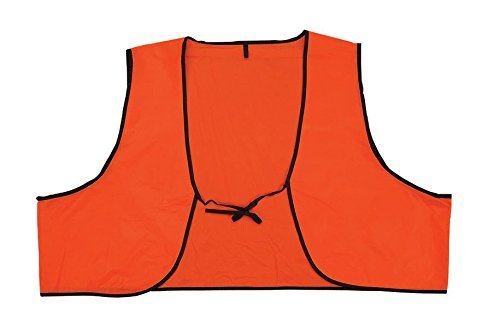 Safety Depot Low Cost Disposable High Visibility Safety Vest One Size Fits Most Multiple Colors Orange and Lime (Pack of 120, Orange) by Safety Depot (Image #1)