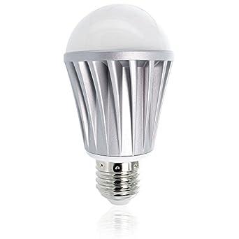 Flux bluetooth smart led light bulb smartphone for Bluetooth controlled light bulb