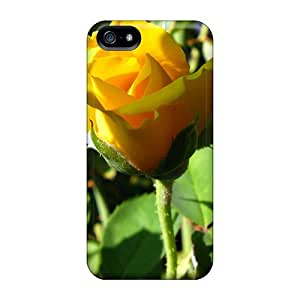 Premium Yellow Rose Heavy-duty Protection Case For Iphone 5/5s