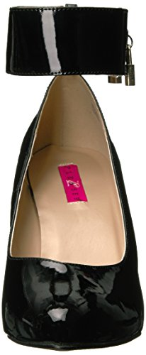b Patent Pump Black Women's Pink Dre432 Pleaser Label Dress g6qI08