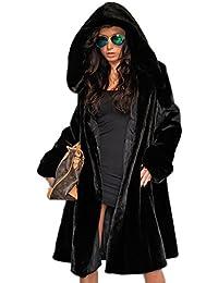 Amazon.com: Plus Size - Fur & Faux Fur / Coats, Jackets & Vests ...