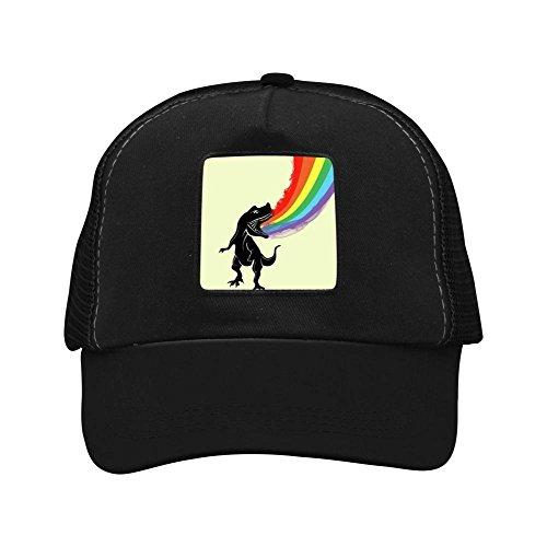 Unisex Rainbow Dinosaur Adjustable Classic Hiphop Hat Baseball Cap Snapback Dad Hat