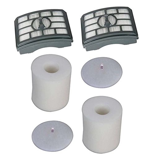 Anboo HEPA Filter & Foam Filter Kit Fit for Shark Rotator Pro Lift-Away NV500, NV501 NV502 NV503 UV560 NV550 NV520, Compare to Part # XHF500 & XFF500