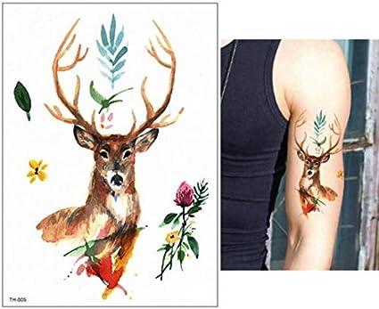 yyyDL Etiqueta engomada del tatuaje temporal Tatuaje temporal ...