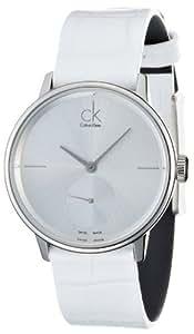 Calvin Klein–Reloj de pulsera analógico para mujer cuarzo piel K2Y231K6