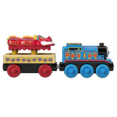 Thomas & Friends Fisher-Price Wood, Thomas and The Dragon: Toys & Games