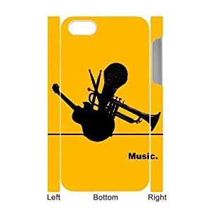 MMZ DIY PHONE CASEALICASE Diy 3D Protection Hard Case Music For ipod touch 5 [Pattern-1]