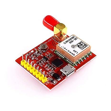 HW-658 gsm/GPRS Molde Módulo GPS USB para Raspberry Pi A B A + B + Zero 2 3 Soporte de protección contra Cortocircuitos Detección aérea: Amazon.es: ...