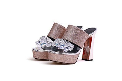Sandales Femmes Hauts pour Pantoufles Talons 88rBwHq