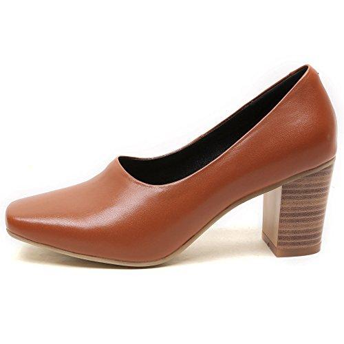 Schuhe Fashion Pumps Quadratische YOUDIFU Zehe Damen X5SqzRnwxE
