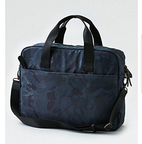 "AEO Messenger Bag Camo Print Blue Fits 16"" Laptop"