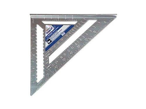 Empire Level Magnum Rafter Squares, x 12 in, 1/8 in @ 1 in, 1/8th, Aluminum