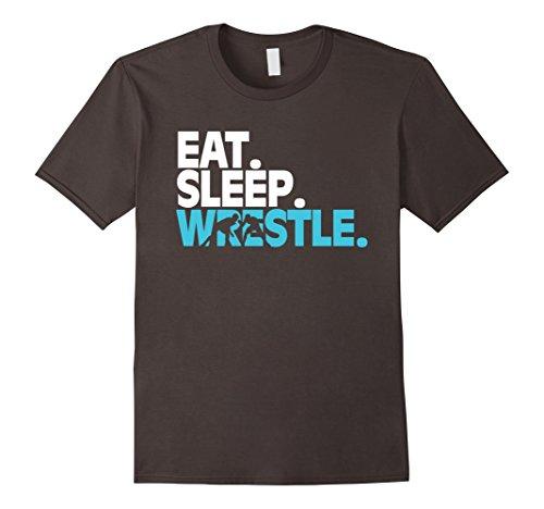 Wrestling T Shirt Eat Sleep Wrestle product image