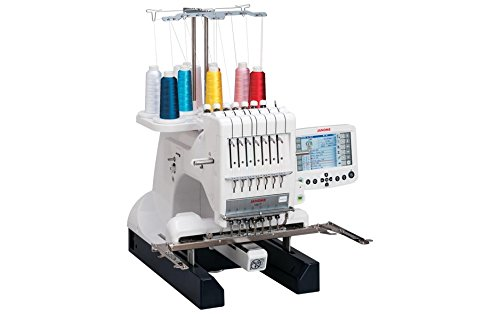 Janome MB-7 Embroidery Machine with Exclusive Bonus Bundle (Janome Mb4 Embroidery Machine)