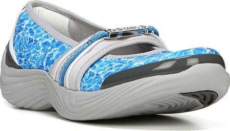 Bzees Mujeres Twinkle Casual Sport Shoe, Blue Tie Dye Agua Azul Tie Dye Print