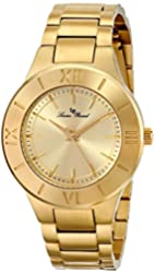 "Lucien Piccard Women's LP-12922-YG-10 ""Helena"" Stainless Steel Watch"