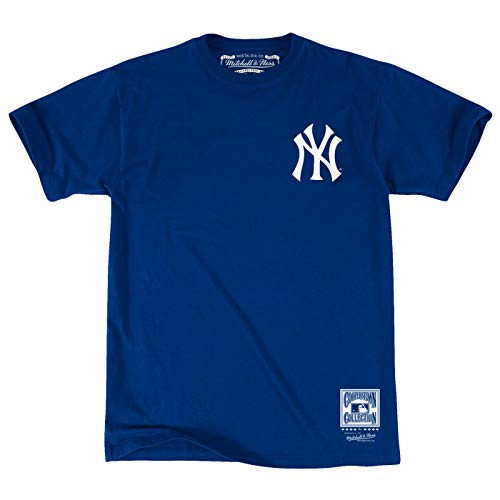 Mitchell & Ness New York Yankees Men's Team First Letter T-Shirt (XX-Large)