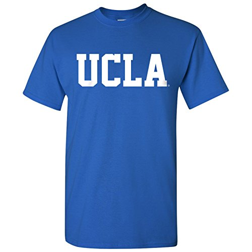 AS01 - UCLA Bruins Basic Block T-Shirt - Small - Royal