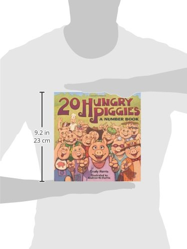 20 Hungry Piggies: A Number Book (Millbrook Picture Books)